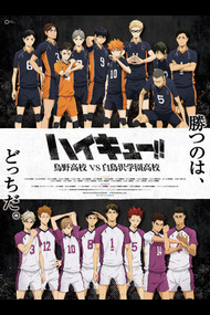 «Волейбол!! 3: Карасуно vs Шираторизава» / Сезон 3 / «Haikyuu!! 3nd Season» TV-3