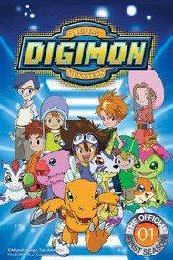 Приключения Дигимонов 1 сезон